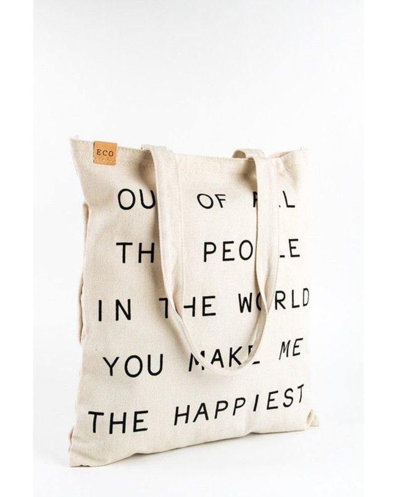 You Make Me The Happiest Bag