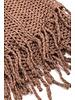 scarves Crochet Fringe Knit Infinity Scarf