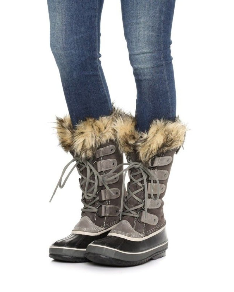 Fur Lined Snow Boots