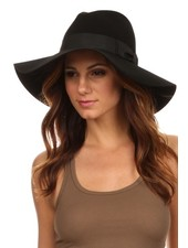 Wide Brim Wool Floppy Hat