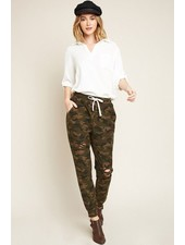 Distressed Camo French Terry