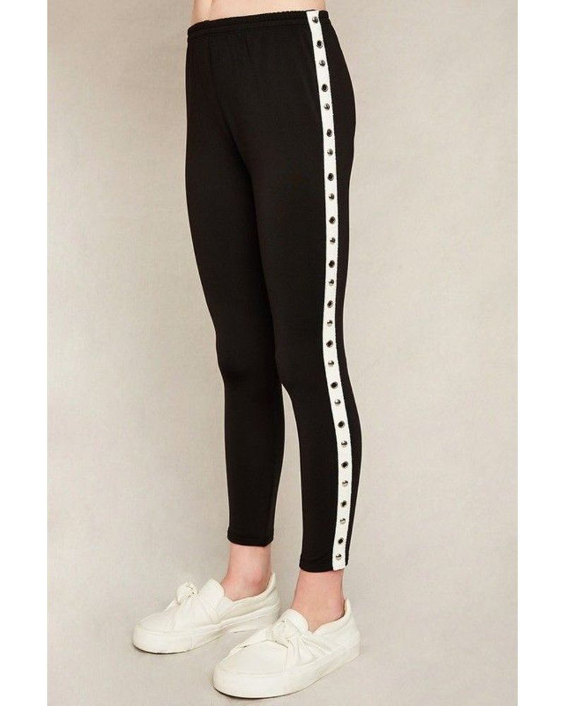 Kids Side Strip Leggings