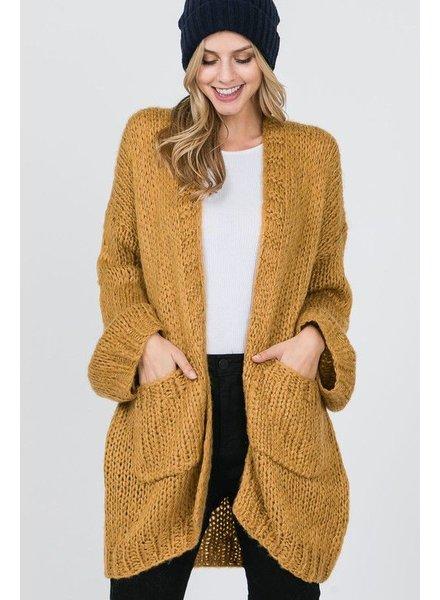 Handmade Chunky Knit Cardigan