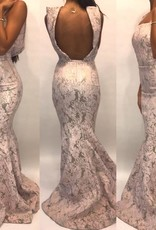 Size 2Jean Paul AtakerBlush Mermaid GownWorn Once