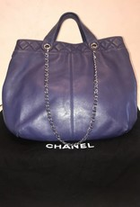 5004 Chanel XL Lamb Skin Shopper	Gently Used