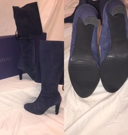 1003 Size 9 Stuart Weitzman Highland Suede Over Knee Boot New in Box