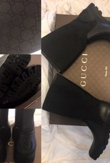 1004 Size 38Gucci Print Rain BootNew in Box