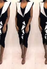 121Size 42 Givenchy Ruffle Midi