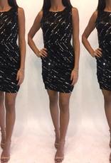 191XSAlice + OliviaBlack Sequin MiniWorn Once