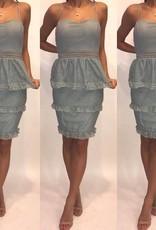 Mystic D15062 Dove Mint Dress Size Medium