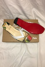 1015Size 38Christian LouboutinFlat Nappa Hawaii Sandal New in Box