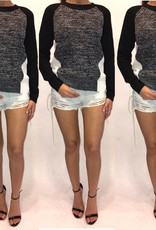Hot and Delicious HDP6579 Lace Up Denim Shorts