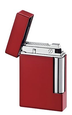 S. T. Dupont | Ligne 8 | Lighter | Red Lacquer 25202