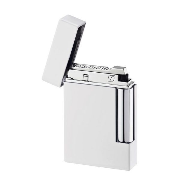 S. T. Dupont | Ligne 8 | Lighter | White Lacquer 25203