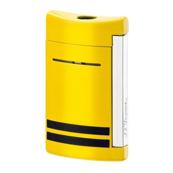 S. T. Dupont | Mini Jet | Lighter | Yellow/Black Stripes 10048