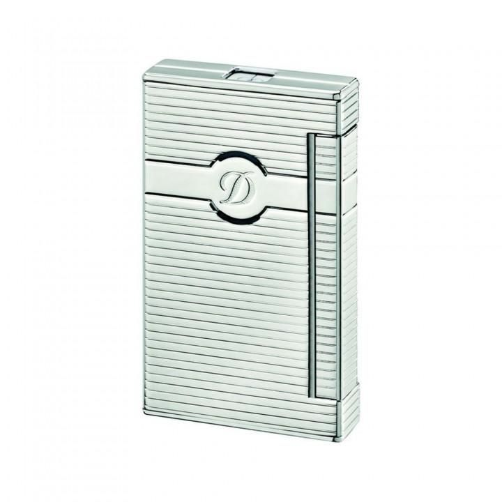 S. T. Dupont | Ligne 2 Torch | Lighter | Horizontal Lines Palladium