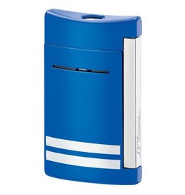 S. T. Dupont | Mini Jet | Lighter | Blue/White Stripes 10047