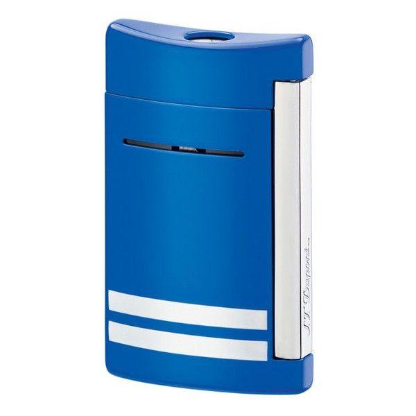 S. T. Dupont | Mini Jet | Lighter | Blue/White Stripes 10047