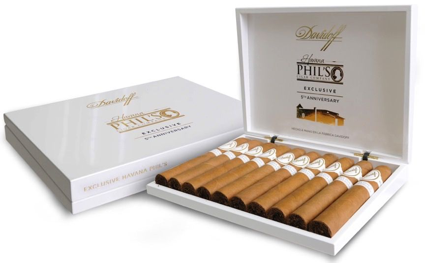 Davidoff | Havana Phil's 5th Anniversary  Exclusive | Belicoso Box 10