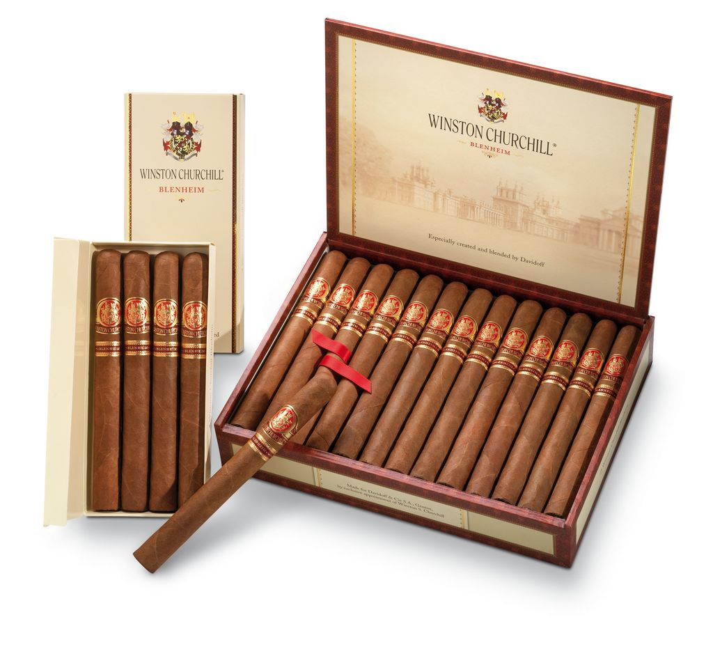 Davidoff | Winston Churchill | Blenheim | 4pk