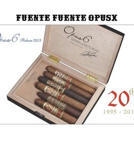 Opus X 20th Anniversary 2015 humidor- Six cigars