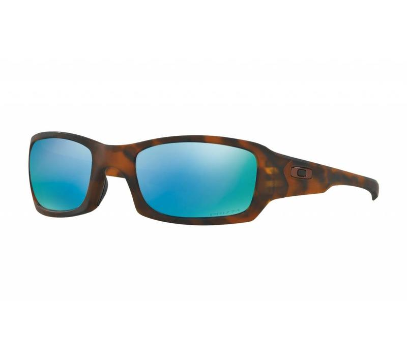 Fives Squared Matte Tortoise w/ Prizm Deep Water Polarized Lens