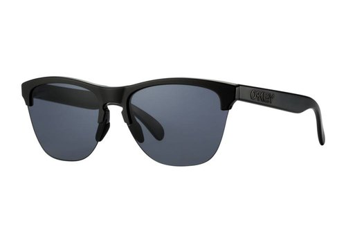 Oakley Oakley Frogskins Lite Semi Matte Black w/ Grey Lens