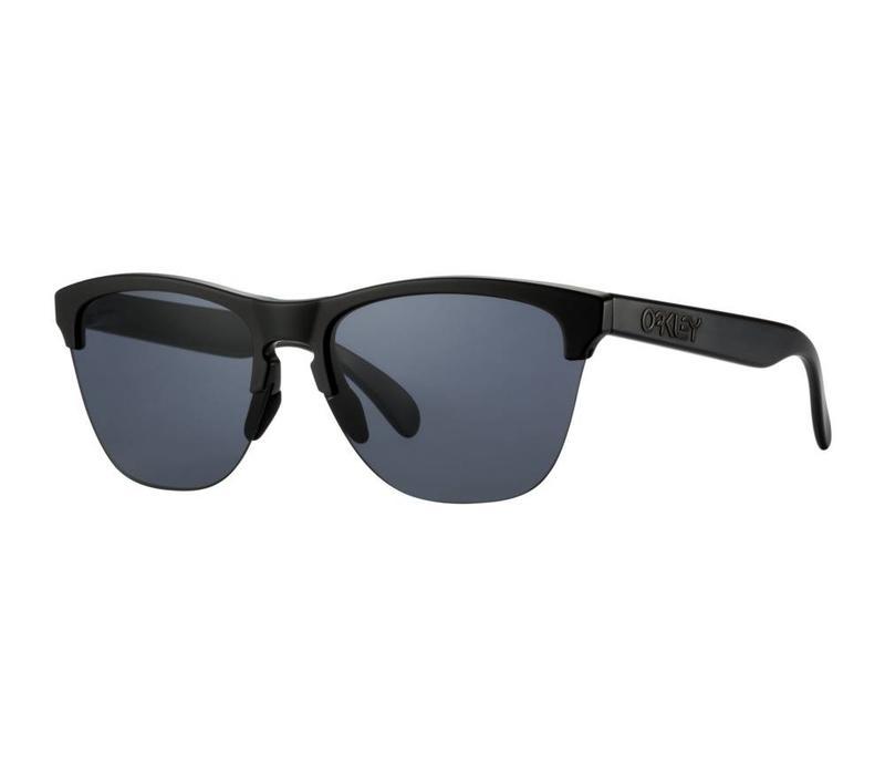 Oakley Frogskins Lite Semi Matte Black w/ Grey Lens