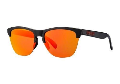 Oakley Oakley Frogskins Lite Semi Matte Black w/ Prizm Ruby Lens