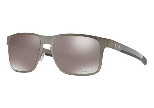 Oakley Oakley Holbrook Metal Satin Chrome w/ Prizm Black Polarized Lens
