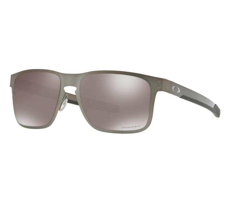 Oakley Holbrook Metal Satin Chrome w/ Prizm Black Polarized Lens