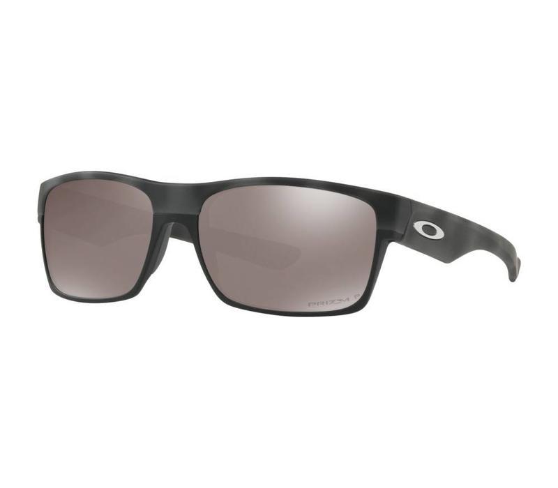Oakley TwoFace Black Camo w/ Prizm Black Polarized Lens
