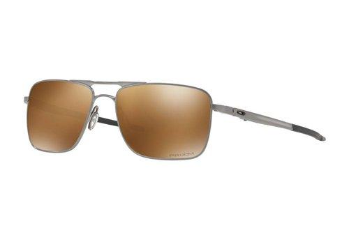 Oakley Oakley Gauge 6 Satin Chrome w/ Prizm Tungsten Polarized Lens