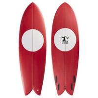 3rd Coast Surfboards 6'2 Warrior V5 Red