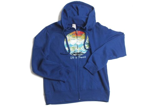 Third Coast Third Coast Life is Swell  Zip Hoody