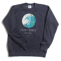 Third Coast Wave Mosaic Crew Sweater