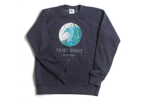 Third Coast Third Coast Wave Mosaic Crew Sweater
