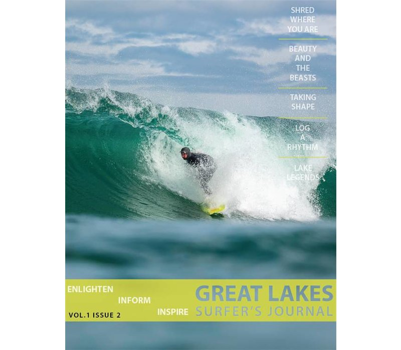 Great Lakes Surfer's Journal Volume 1 Issue 2