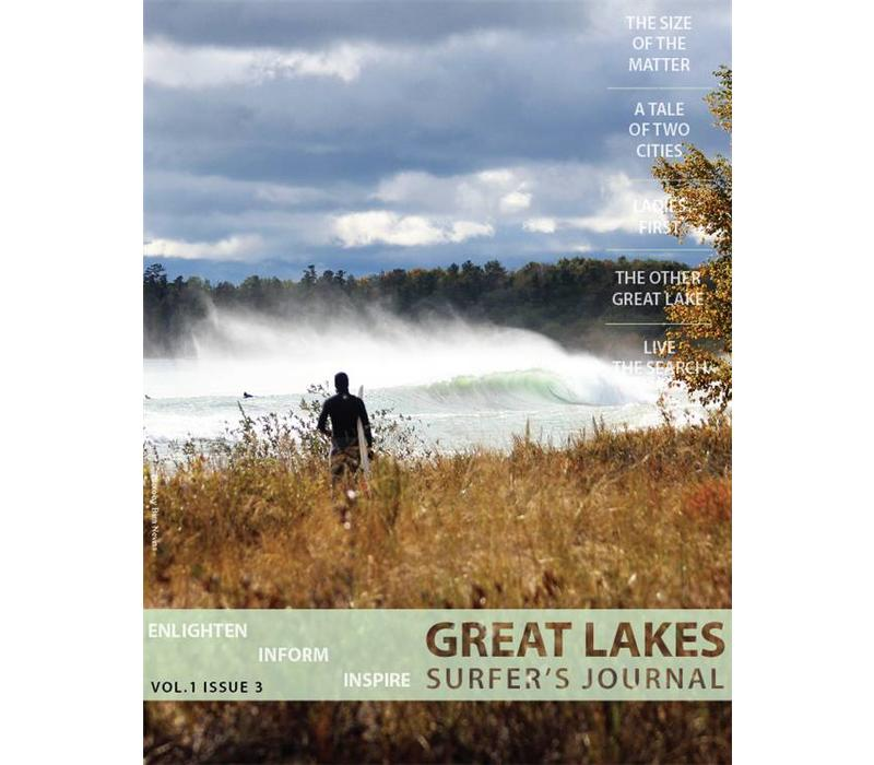 Great Lakes Surfer's Journal Volume 1 Issue 3