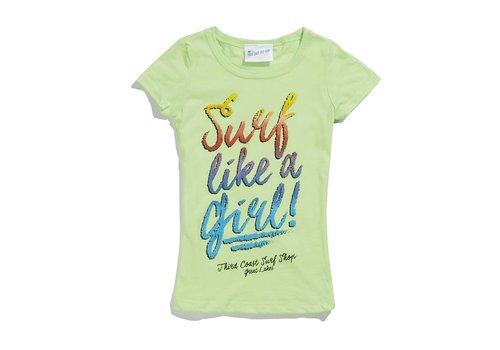 Third Coast Third Coast Surf Like a Girl Youth Tee