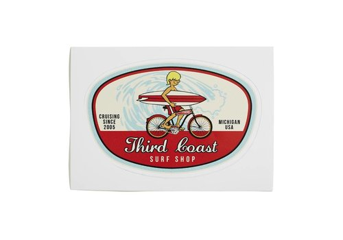 Third Coast Third Coast Surf Bike Sticker