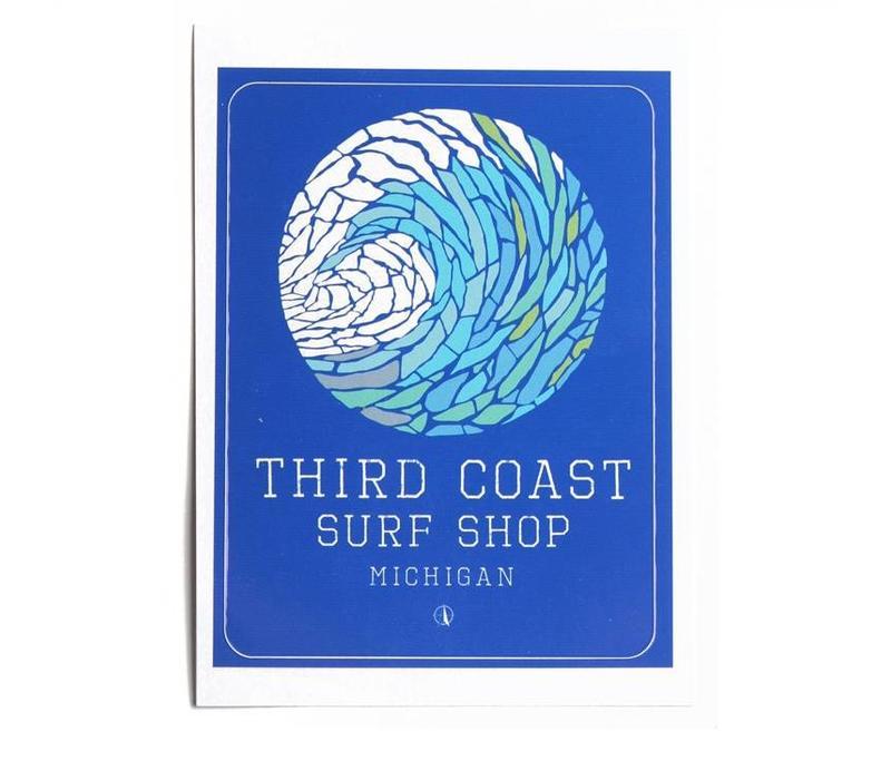 TCSS Wave Mosaic Sticker