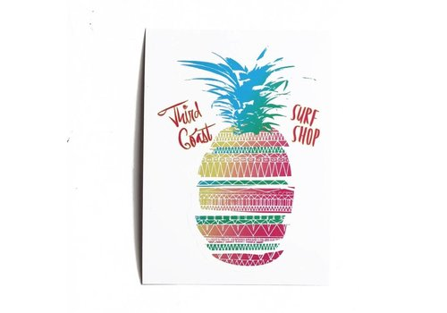 Third Coast Third Coast Sliced Pineapple Sticker