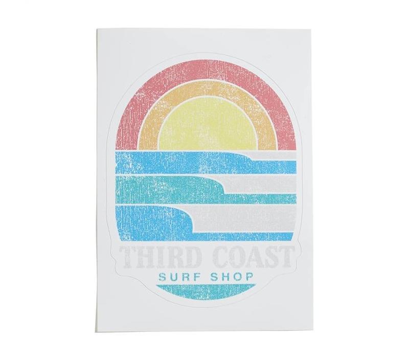 Third Coast Surf 'n Sun Sticker