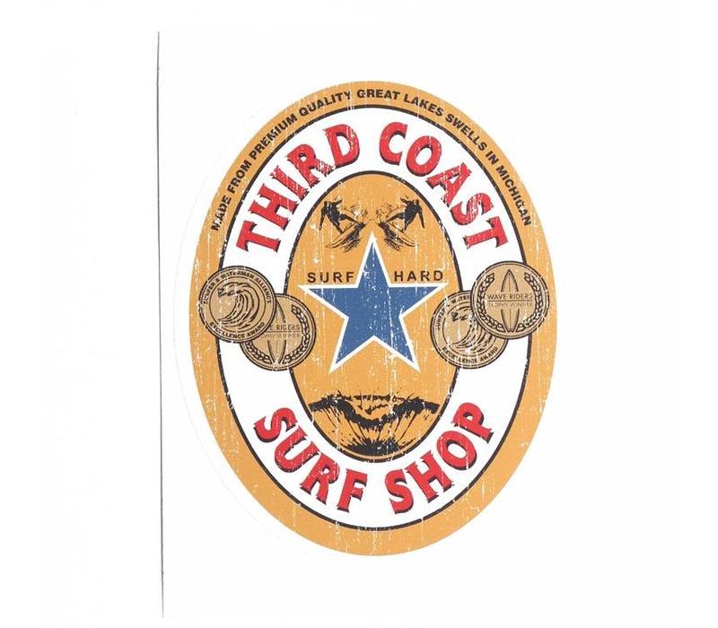 Third Coast Imported Ale Sticker