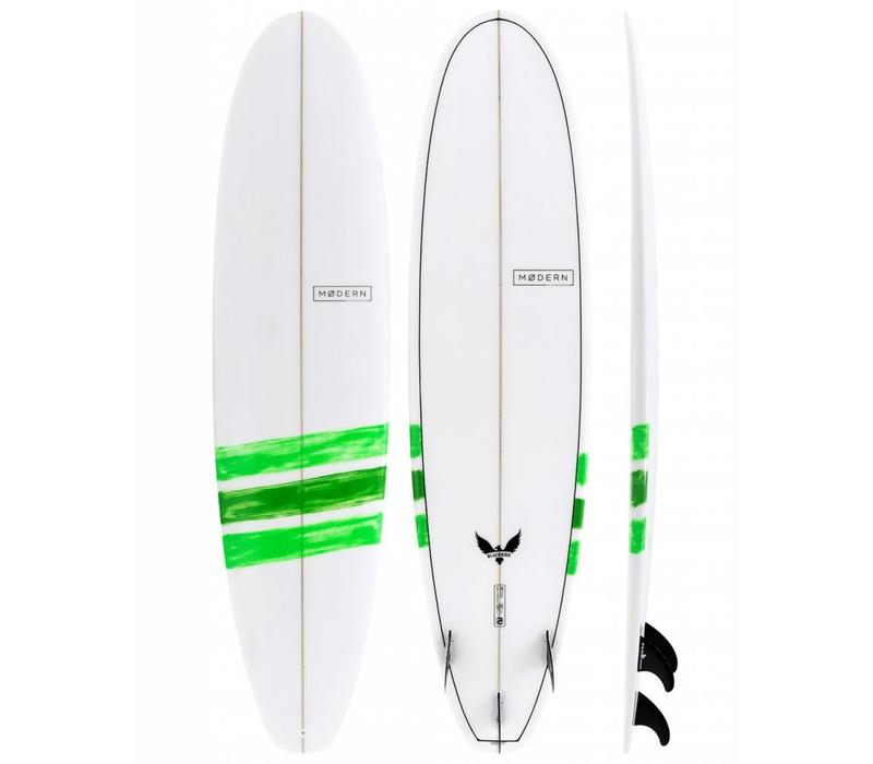 Modern 8'0  Blackbird PU Basic Lime