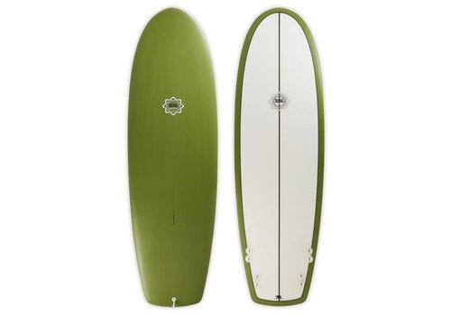 Bing Surfboards 6'2 Bing Puck Olive Opaque