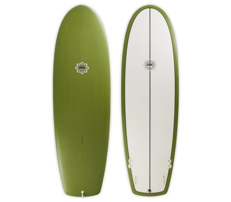 6'2 Bing Puck Olive Opaque