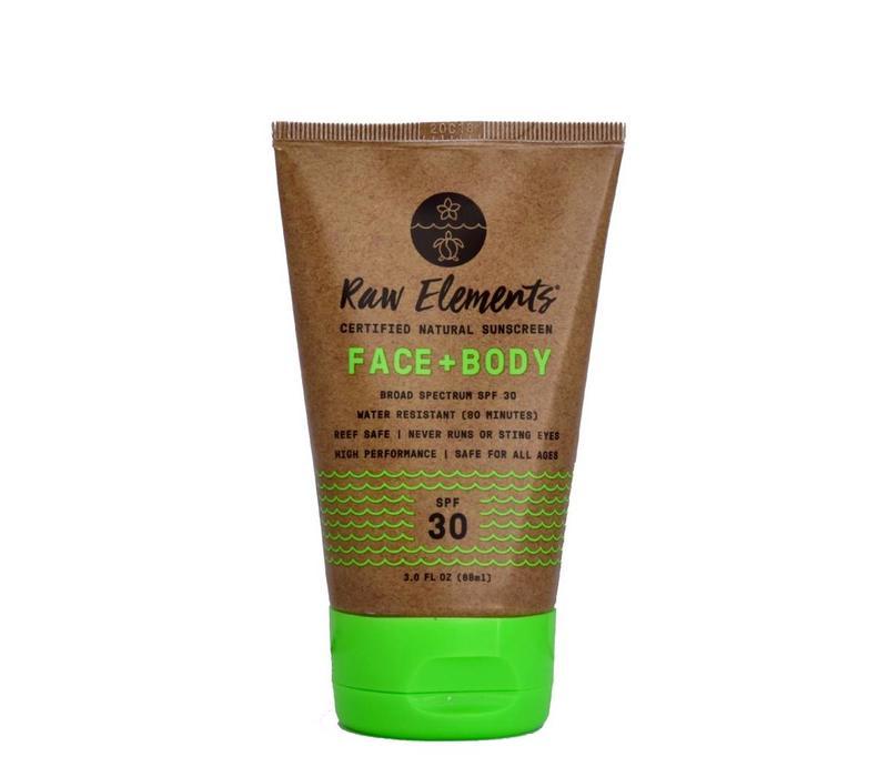 Raw Elements Tube Eco Formula Face And Body 3oz