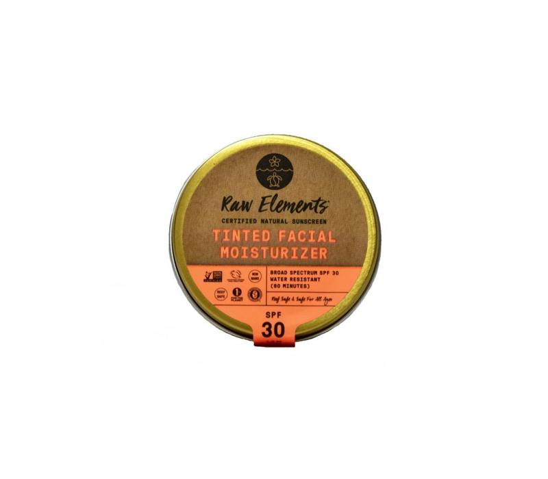 Raw Elements Tinted Facial Moisturizer SPF 30 1.8oz